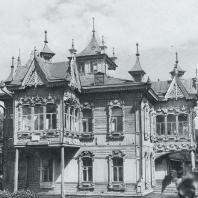 Общий вид дома. Томск, Красноармейская улица, 67 а