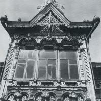 Эркер с тройным окном. Томск, Красноармейская улица, 67 а