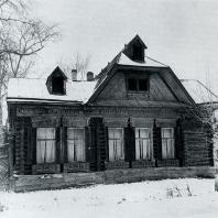 Общий вид дома. Томск. Улица Советская, 93