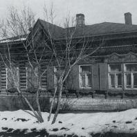 Общий вид дома. Томск. Красноармейская улица, 44