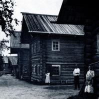 Улица в с. Сеймосово Архангельской обл. Фото 1920-х гг.