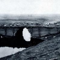 Рубленый мост через р. Сию. Архангельская обл. XIX в. Фото А. В. Лядова