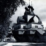 Церковь с. Нелазское-Борисоглебское Вологодской обл. 1694 г. Фото А. А. Александрова