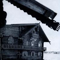 Фрагмент дома Ошевнева. Фото А. А. Александрова