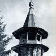 Колокольня часовни в дер. Корба. Фото А. А. Александрова