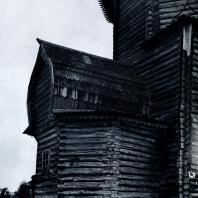 Абсида Успенского собора в г. Кемь. Фото А. А. Александрова