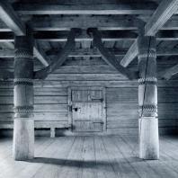 Интерьер Успенской церкви в г. Кондопога. Фото А. А. Александрова