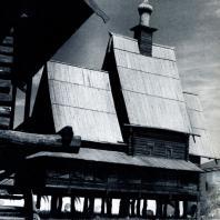 Церковь в с. Спас-Вежи Костромской обл. 1628 г. Перенесена в Ипатьевский монастырь в Костроме. Фото М. А. Ильина