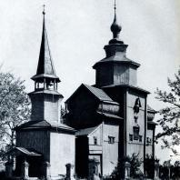 Церковь Иоанна Богослова на р. Ишне близ г. Ростова Ярославской обл. 1687 г. Фото А. А. Александрова