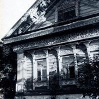 Дом П. И. Золина в дер. Сологузово Горьковской обл. Фото Г. П. Вишневского