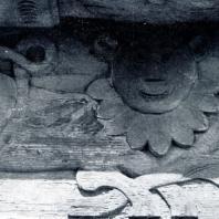 Дом Крепышева в дер. Волошково Ивановской обл. 1873 г. Фрагменты лобовых досок. Фото . Г.П. Вишневского