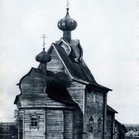 Церковь Преображения в с. Янидор Пермской обл. 1707 г. Фото из фондов Пермской реставрационной мастерской