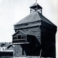 Башня Якутского острога. Якутск. 1683 г. Фото Н. Н. Немнонова