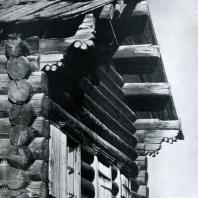 Изба в Иркутской обл. Фото В. В. Робинова